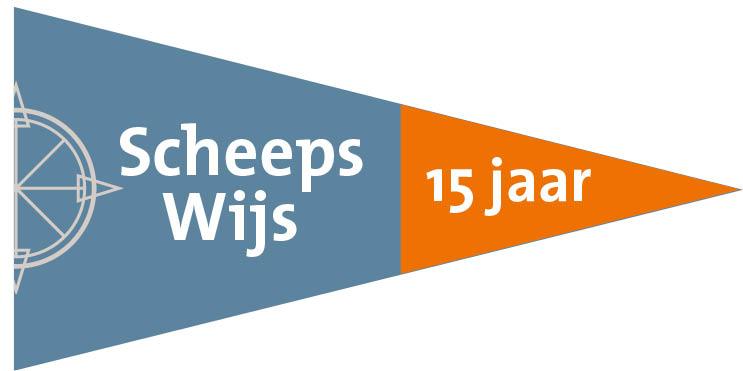 Wimpel ScheepsWijs 15 jaar
